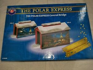 Lionel The Polar Express Covered Bridge #6-84489 BNIB