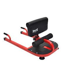 Energetics Sissy Squat Machine - Adjustable Height and Feet Holder - Push up Bar