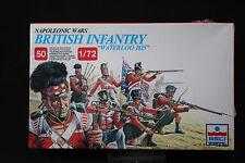 YB090 ESCI 1/72 maquette figurine 215 British Infantry Waterloo 1815 NB