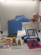 1990's Shopping Fun Barbie with Kelly- Shopping Cart, Play Food KELLY