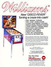 Williams Disco Fever pinball cpu rom chip set