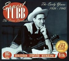 ERNEST TUBB - The Early Years 1936-1945..4 DISC BOX SET..NEW & SEALED   C1643