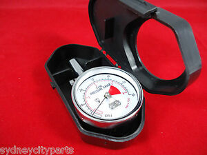 TOYOTA TYRE PRESSURE GAUGE WITH PROTECTIVE CASE GENUINE ACCESSORY EXPRESS POST