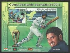 TOGO 2011 CRICKET WORLD CUP S/Sheet SACHIN TENDULKAR Combination Offer