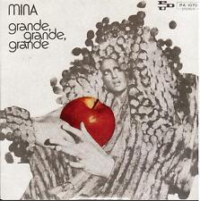 """Mina: Grande Grande Grande / Non Ho Parlato Mai - 7"""" Vinyl 45 rpm Record Store"""