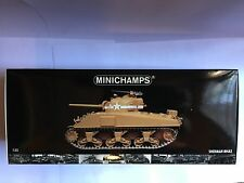 MINICHAMPS U.S. ARMY SHERMAN M4A3 76 mm MEDIUM TANK TUNISIA 1943 1:35 NEW BOXED