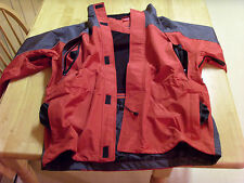 Adult Rain Suit Reflective Safety Waterproof Full Body Jacket /& Pants Orange SFW