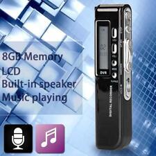 Mini 8Gb Digital Audio Voice Recorder Usb Rechargeable Dictaphone Mp3 Player Ga
