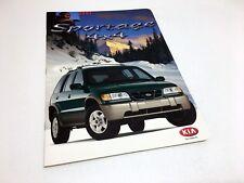 2001 Kia Sportage Brochure