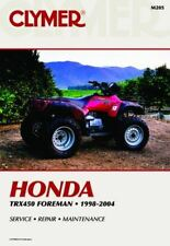 Honda TRX450 Foreman 98-04 Workshop Manual