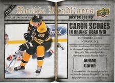 2010-11 Upper Deck Rookie Headlinders Jordan Caron