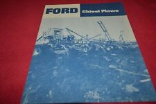 Ford Tractor Chisel Plow Dealers Brochure AMIL15