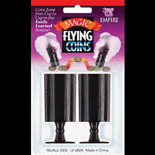 Flying Coins - Quarters Transport Themselves - Money Magic Trick