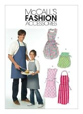 McCall's SEWING PATTERN M5551 Misses/Mens/Childrens Aprons