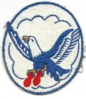 """70TH BOMB SQUADRON USAF FLIGHT SUIT PATCH B-52 ARC LIGHT LIME STONE AFB 4"""""""