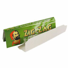 1000 ZIG ZAG GREEN RIZLA/ROLLING PAPERS 20 PACKS X 50 PAPERS STANDARD SIZE