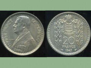 FRANCE ( MONACO )  20 francs  1947 ( aus )