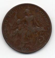 France - Frankrijk - 5 Centime 1913