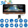 "Android 3G Wifi Vehicle Car Video Dual Camera 8"" GPS Navigation 1080P HD DashCam"