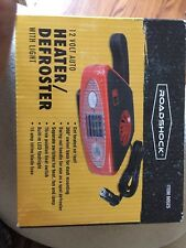 New Roa Brand 12 Volt Auto Heater & Defroster with Light & Mounting Base # 60525