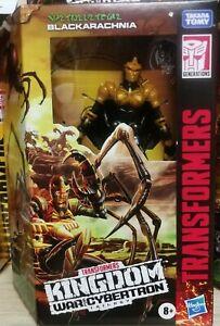 Transformers Kingdom War for Cybertron BLACKARACHNIA (Deluxe Class)