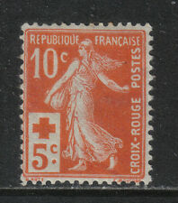 France 1914 Sower 10c + 5c semipostal--Attractive Topical (B2) MH