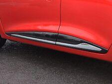 Côté Chrome Protecteur De Porte Garniture Set accent couvre Streamer Pour Renault CLIO 12 +