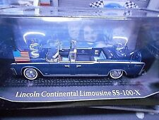 LINCOLN Continental SS 100 X Staatslimousine USA Kennedy Cabrio IXO Alt SP 1:43