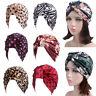Women Muslim Stretch Turban Velvet Hat Chemo Cap Hair Loss Head Scarf Cover Caps