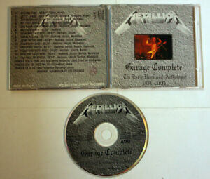 METALLICA Garage Complete (The Early unofficial Antology) CD