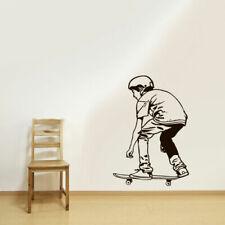 Wall Vinyl Sticker Decal Skate Skateboard Rampa Roller Skaters Street (Z3078)