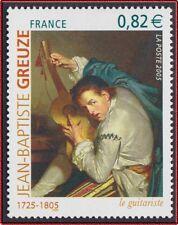 2005 FRANCE N°3835** TABLEAU Jean-Baptiste GREUZE, FRANCE 2005 Painting MNH