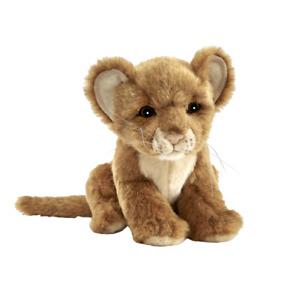 "Hansa Lion Cub soft plush toy 7""/18cmLion Soft Toy"
