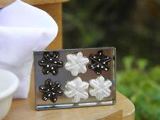 Miniature Dollhouse FAIRY GARDEN Accessories ~ Snowflake CHRISTMAS Cookies Sheet