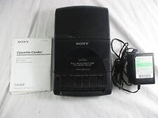 Sony TCM-939 Portatile Registratore a Cassette Tape Player + MANUALE + Adattatore Originals
