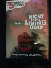 New ListingNight Of The Living Dead Plus 5 Movies Dvd Horror Movie Collection