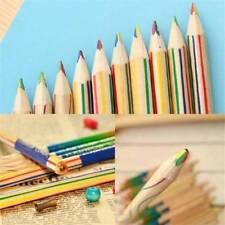 10PCS Rainbow Color Pencil  Wooden Colored Pencil Drawing Painting Pencils DIY