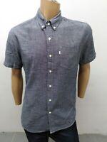 Camicia LEVIS UOMO taglia size L shirt man chemise maglia polo cotone p 5313