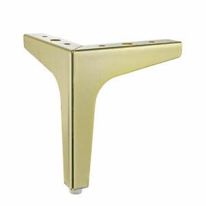 4Pcs Golden Steel Furniture Leg / Feet Metal Sofa feet Chair Cabinet stool table
