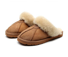 Best Gift Choice UGG Slippers- 100% Australian Sheepskin Unisex Slippers