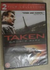'Taken' & 'Taken 2' Two-Film DVD Collection New Sealed