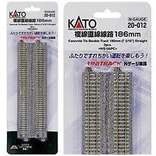 20-012 KATO Unitrack Voies Doubles 186mm N 1/160