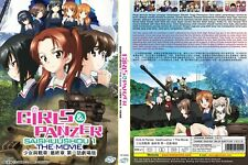 Girls und Panzer das Finale (Movie Series: Part 1) ~ DVD ~ English Subtitle ~