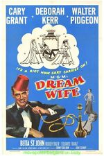 DREAM WIFE MOVIE POSTER 11x17 With Plastic Holder CARY GRANT 1953