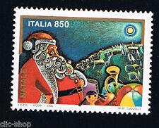 ITALIA 1 FRANCOBOLLO NATALE BABBO NATALE 1996 nuovo**
