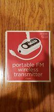 *Brand New In Box* Portable Fm wireless transmitter