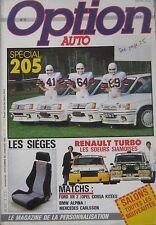 Option Auto magazine 12/1985 - 01/1986 Issue 8