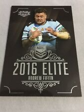 Andrew Fifita 2016 NRL Elite Traders Cronulla Sharks Rugby League Card