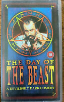 The Day of the Beast VHS 1995 Spanish Santanic Horror Cult Film Movie