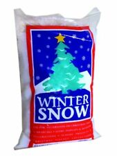 Winter Christmas Decor Artificial Fake Snow Fluffy Powder Xmas Instant 4 Liters